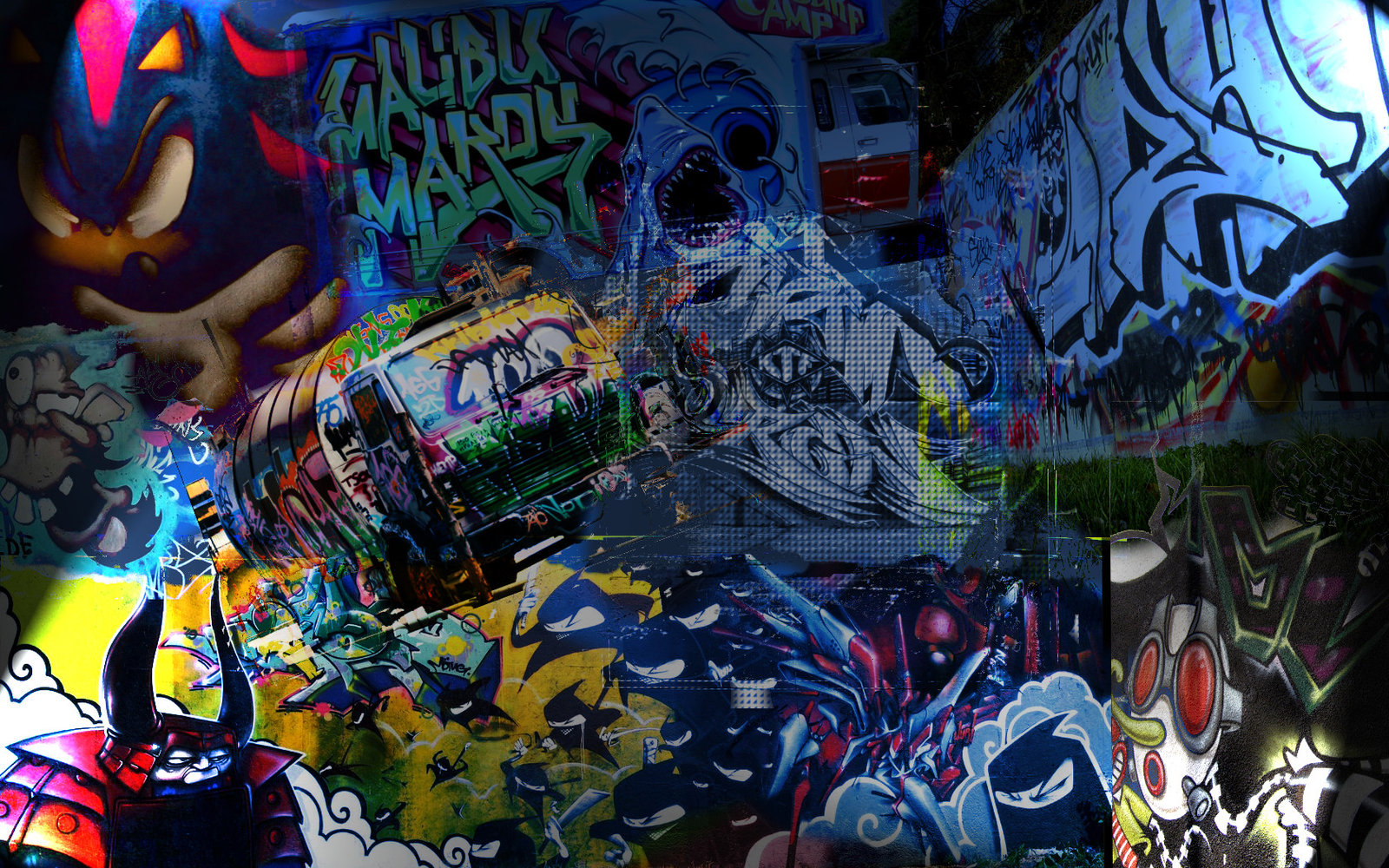 download Cool Graffiti Wallpaper [1600x1000] for your Desktop 1600x1000