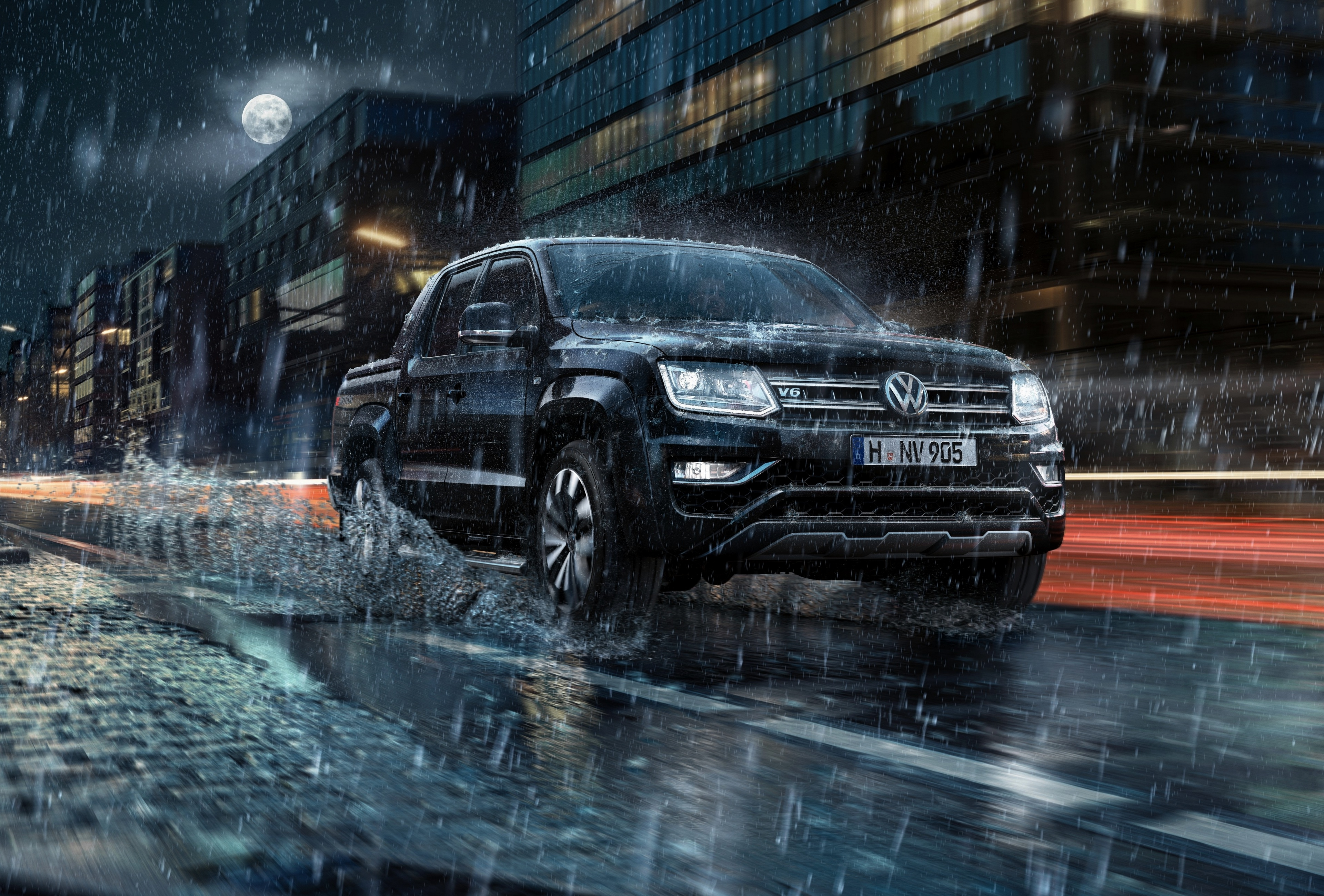 Volkswagen Amarok 4k Ultra HD Wallpaper Background Image 3840x2599