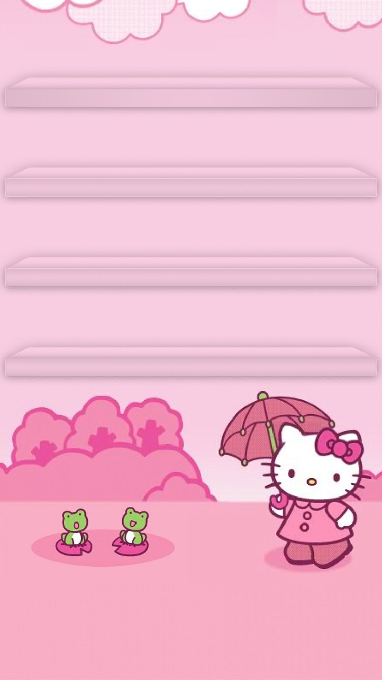 Hello Kitty Wallpaper Gallery Mtc   Hello Kitty Phone Background 750x1334