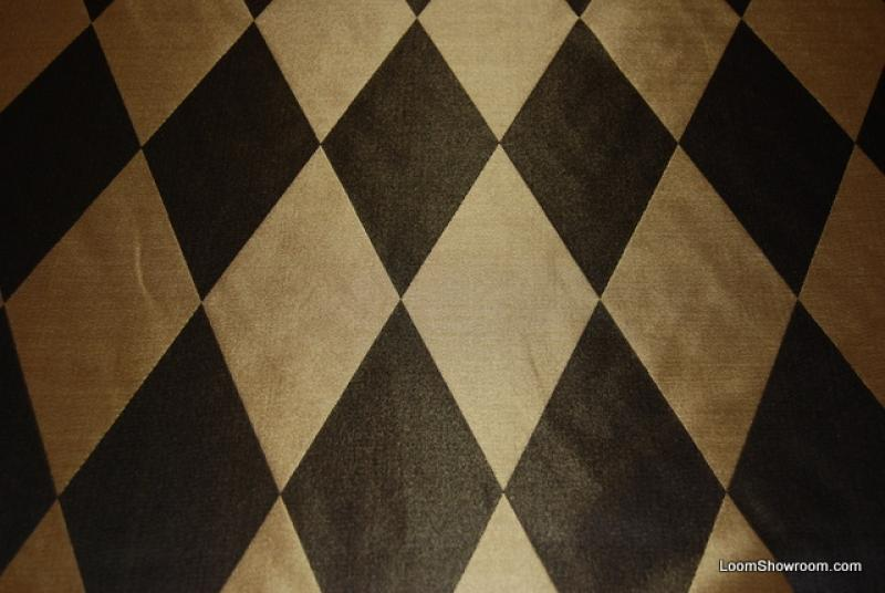 Free Download Hd204 Black And Gold Harlequin Diamond Faux