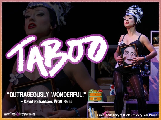 Memorabilia Taboo the Musical Wallpapers the real darryl 550x413