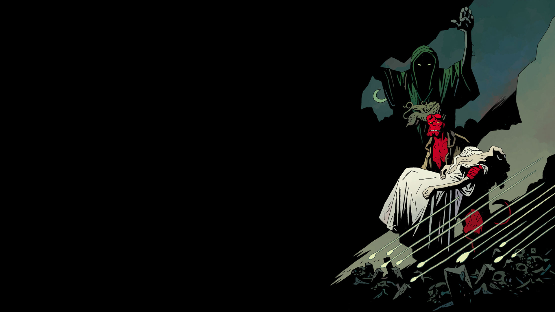 1 Hellboy The Bride Of Hell HD Wallpapers Backgrounds 1920x1080