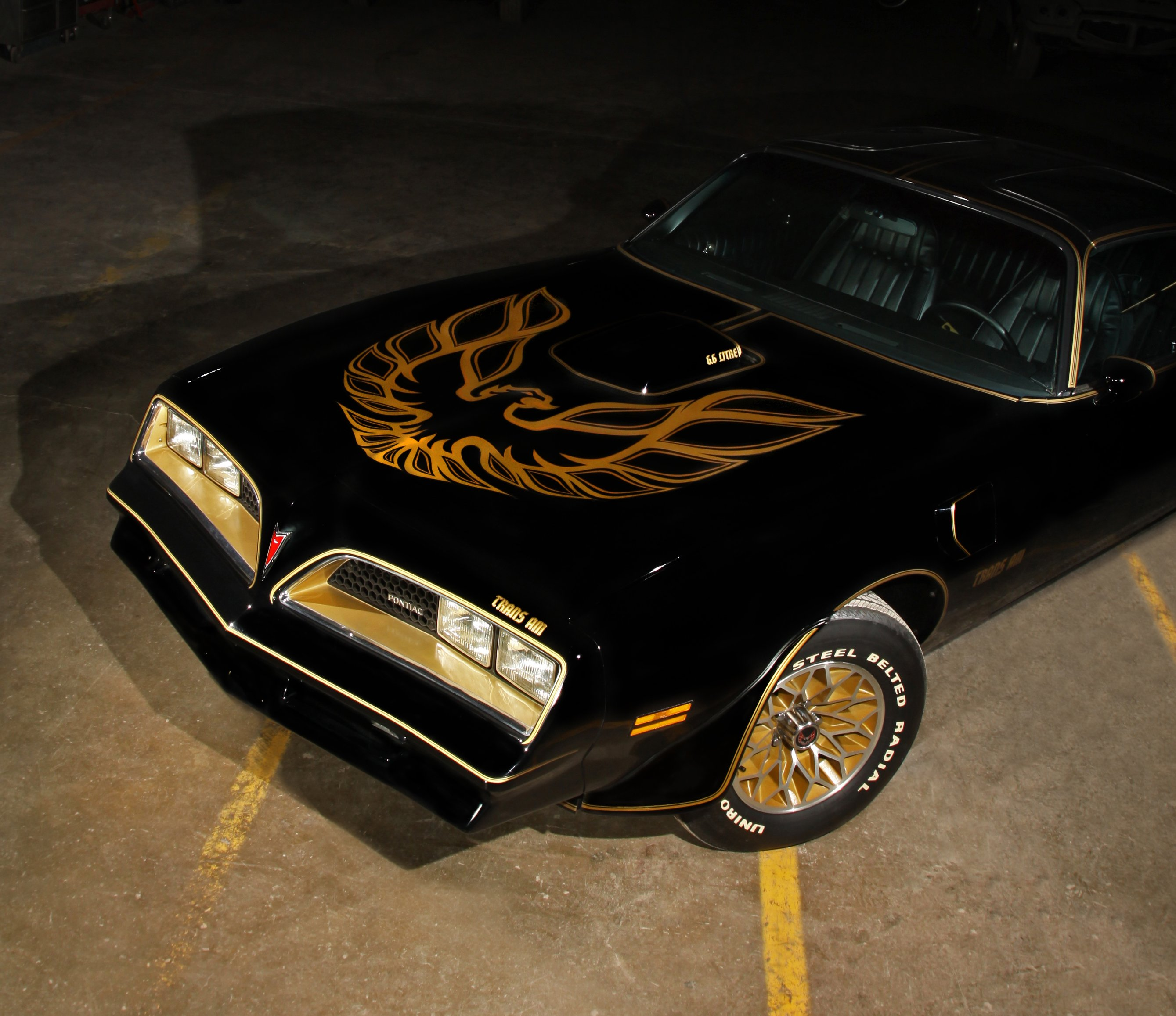 This 77 Trans Am Special Edition has only 213 miles on the odometer 2678x2315