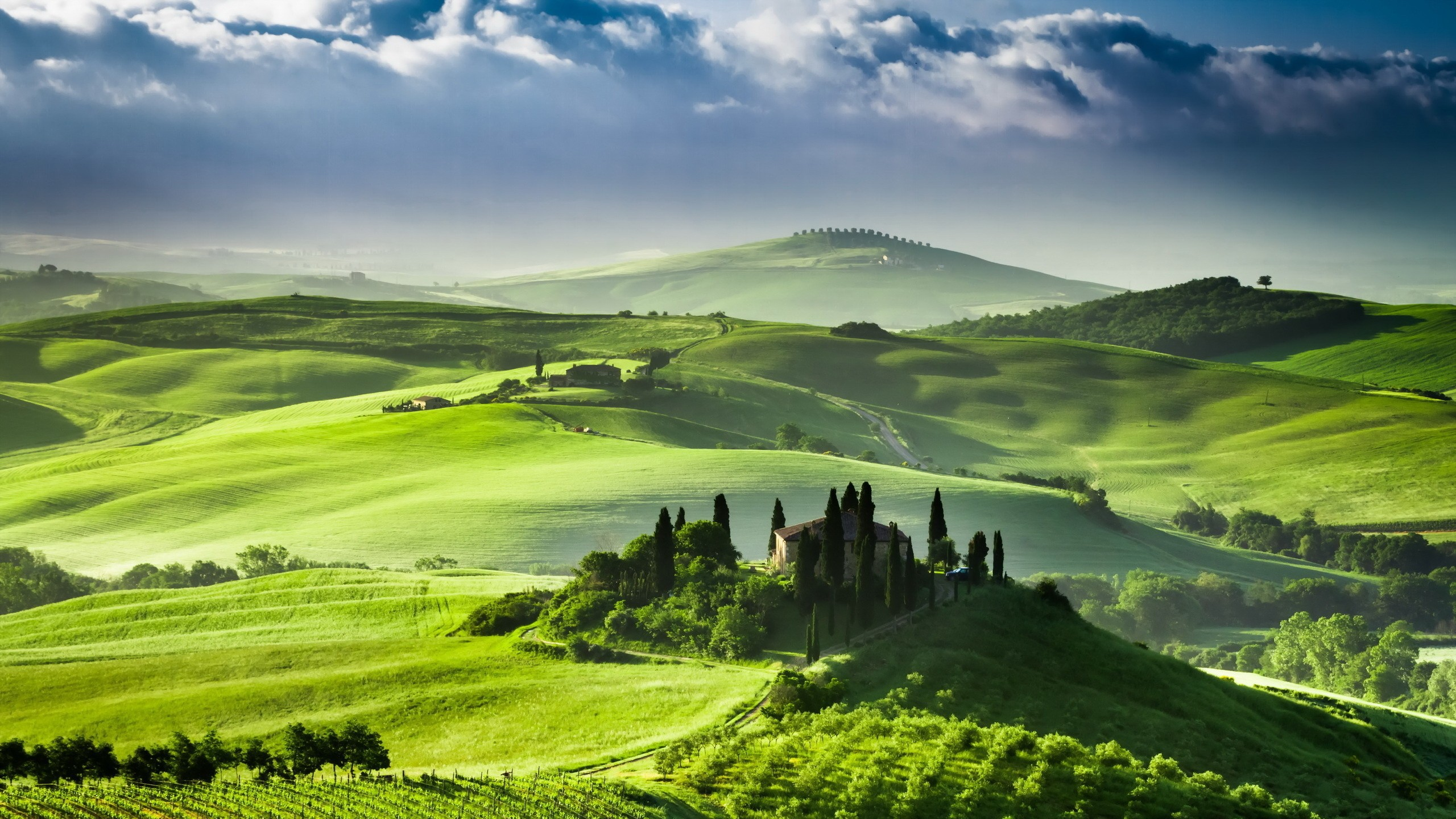 landscape Italy wallpapers and images   wallpapers pictures photos 2560x1440