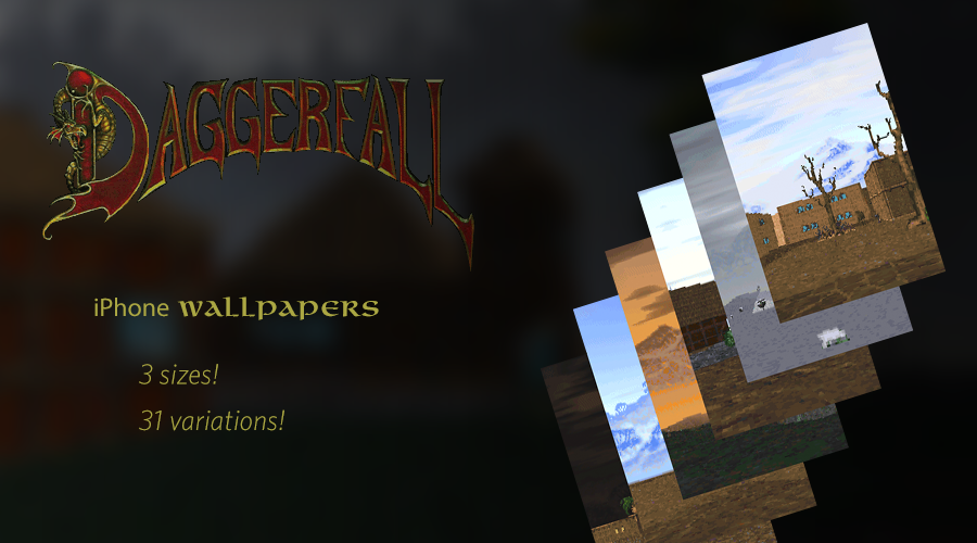 Daggerfall phone wallpapers by Goomba4001 900x500