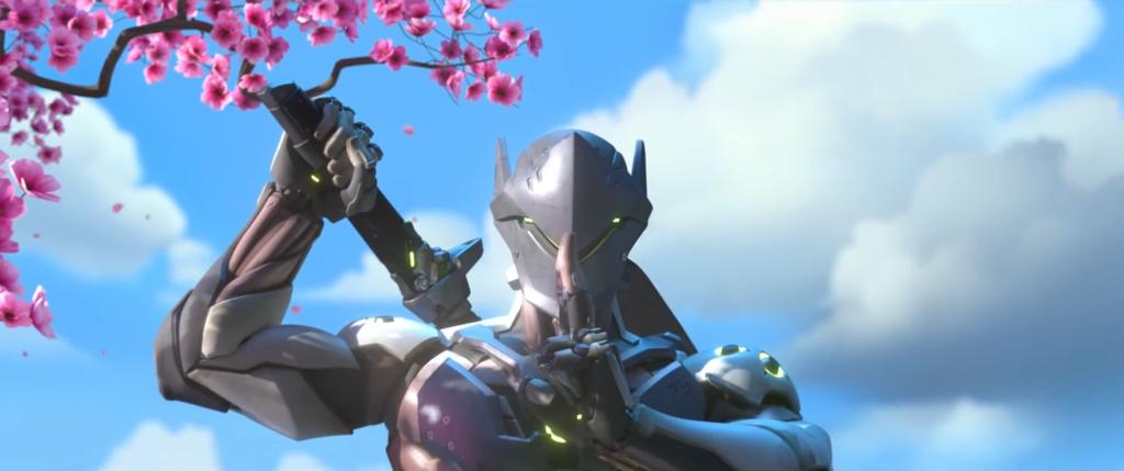 Genji   Overwatch by PlanK 69 1024x429