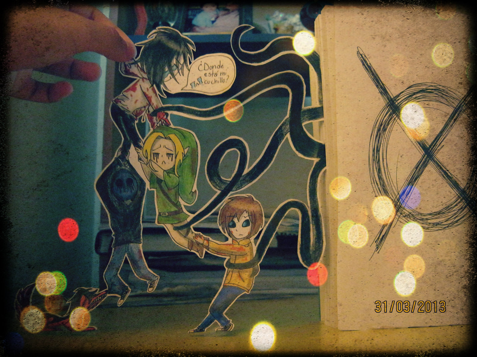 Paper Child Creepypasta by Sussett on deviantART 1600x1200
