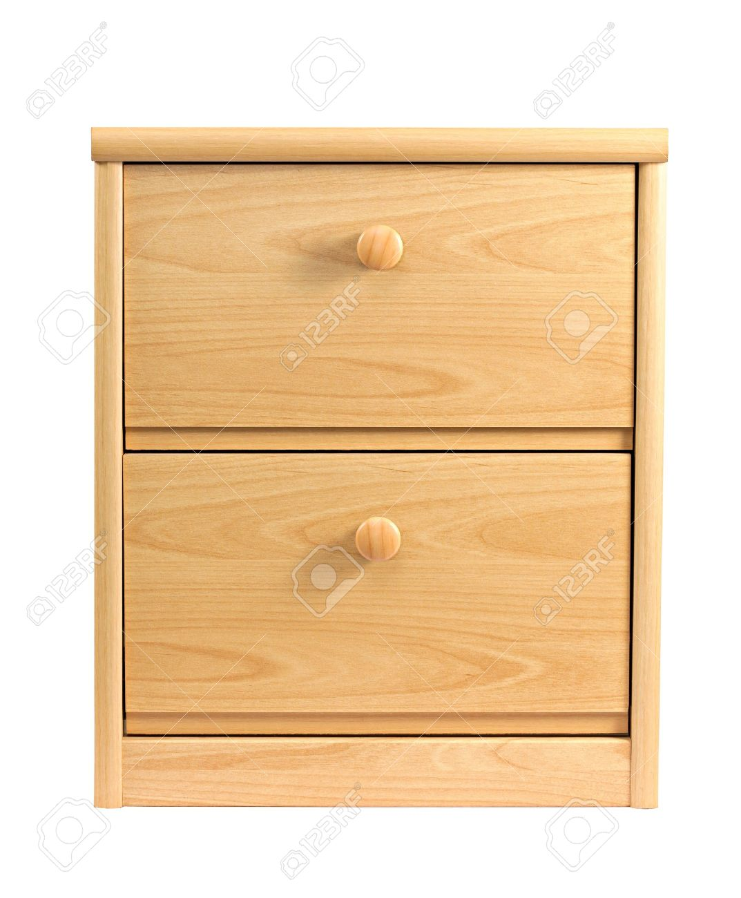 Small Drawer Cabinet Isolated On White Background Stock Photo 1073x1300
