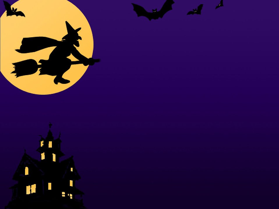 Witch Stock Photo A Halloween background with a witch bats 958x719