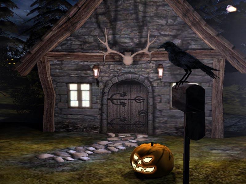 Animated Halloween Screensaver Download   3D Spooky Halloween 800x600