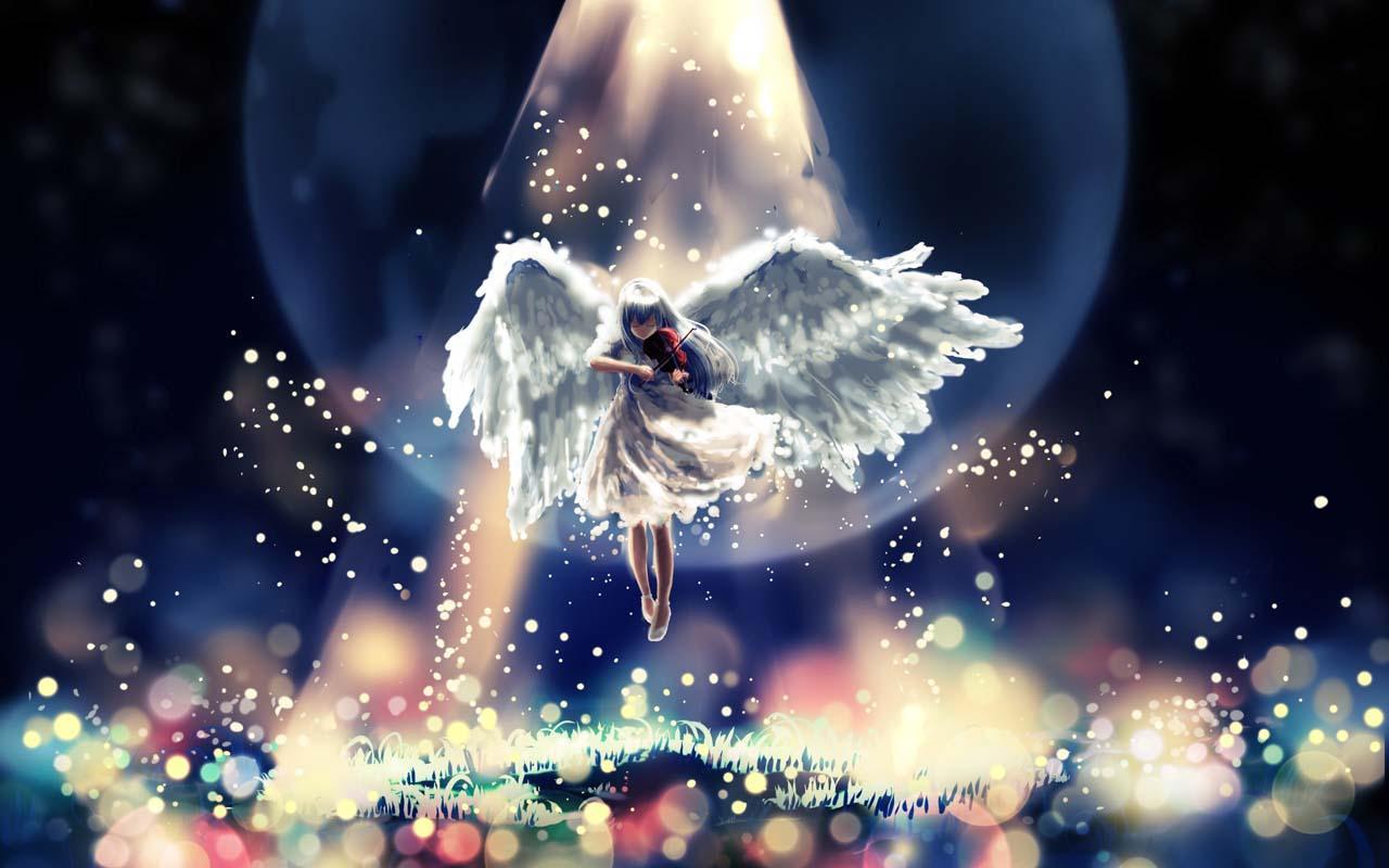 3d dream angel hd wallpapers a high quality 3d angel hd wallpaper 1280x800