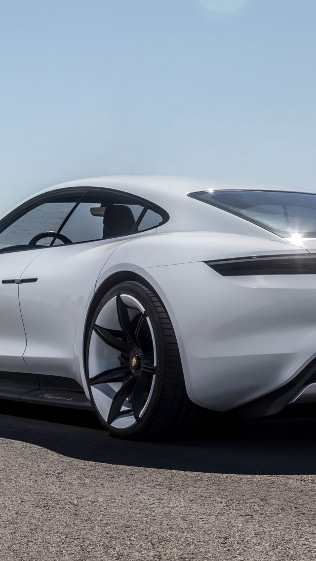 Wallpaper Porsche Taycan Electric Car supercar 2020 Cars 4K 640x1138