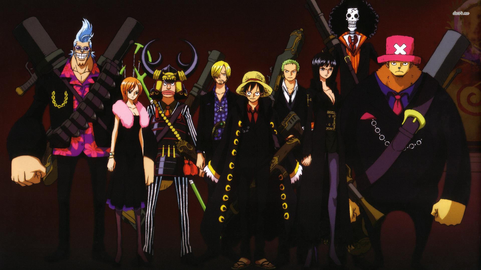 One Piece Anime Wallpaper - WallpaperSafari