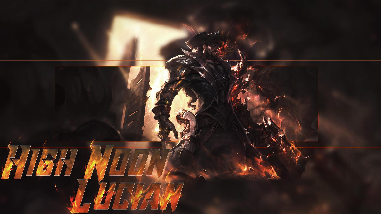 League of Legends High Noon Lucian Wallpaper by Mr Booker on 1600x900