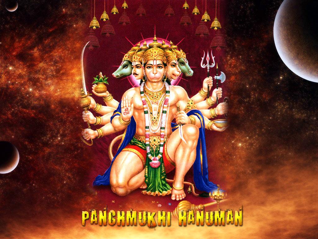 Panchmukhi Hanuman Wallpapers HD WALLPAPERS 1024x768