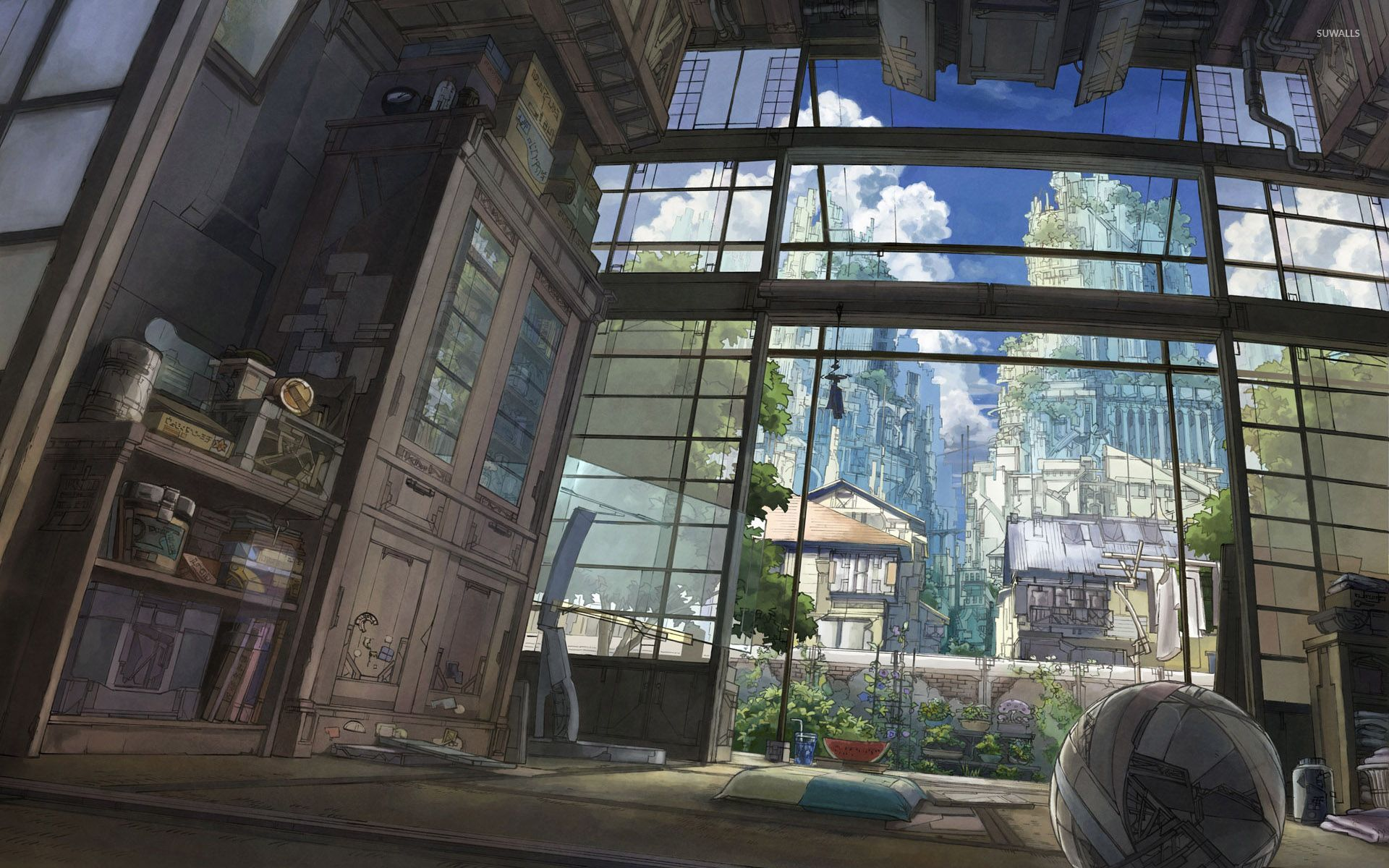 Japanese style anime room wallpaper   Anime wallpapers   30692 1920x1200