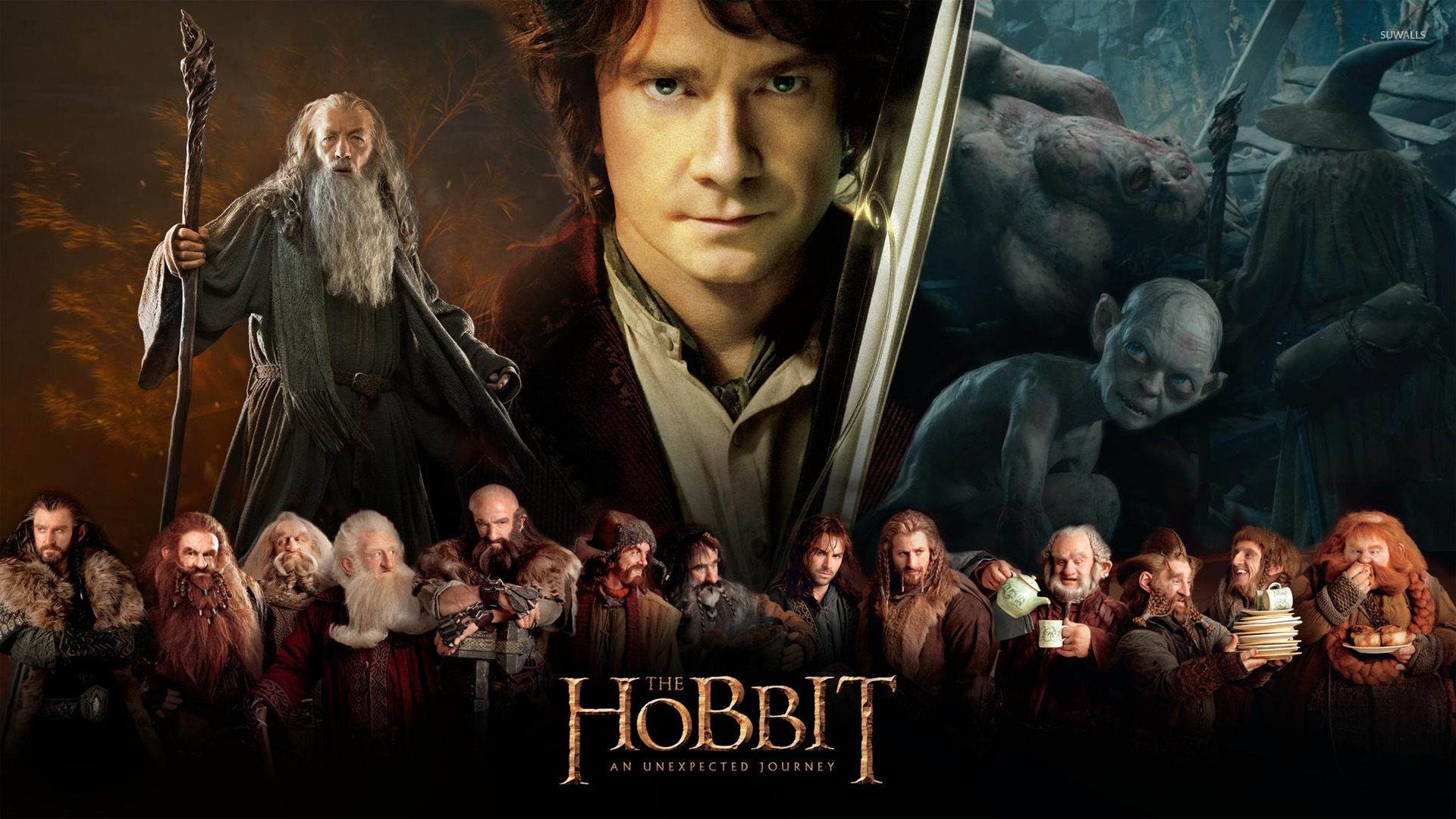 The Hobbit An Unexpected Journey wallpaper   Movie wallpapers 1366x768
