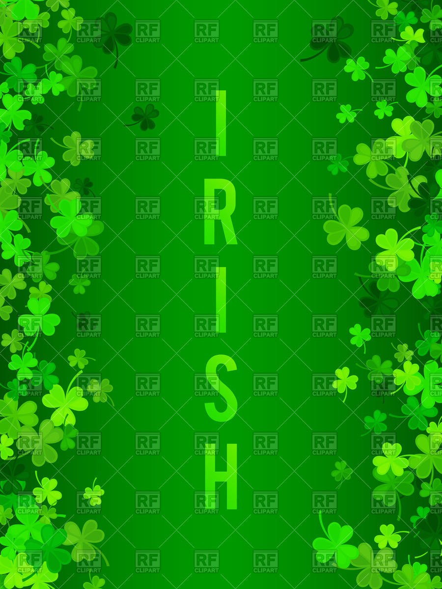 St Patricks Day background Vector Image of Backgrounds Textures 900x1200
