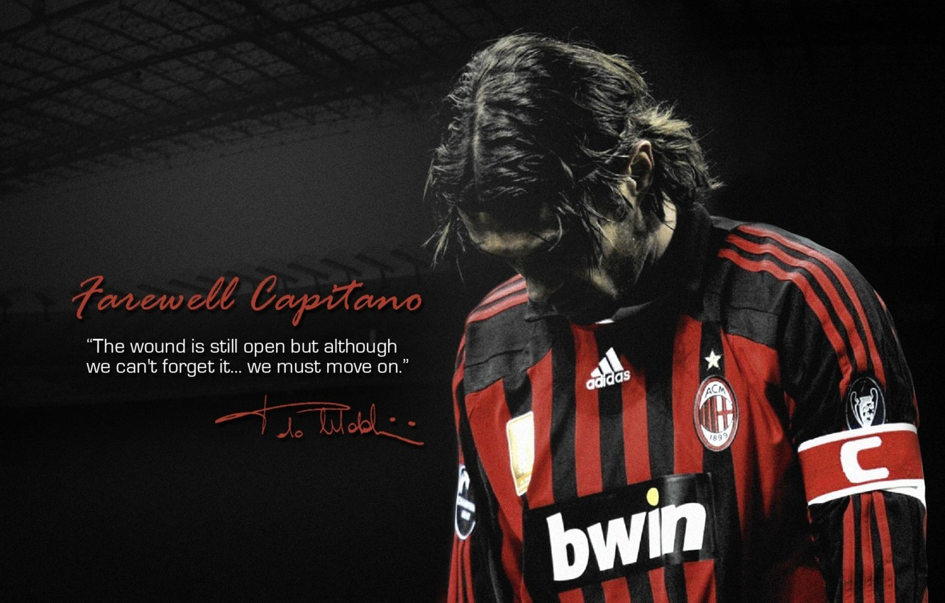 Wallpaper football AC Milan Paolo Maldini images for desktop 1332x850