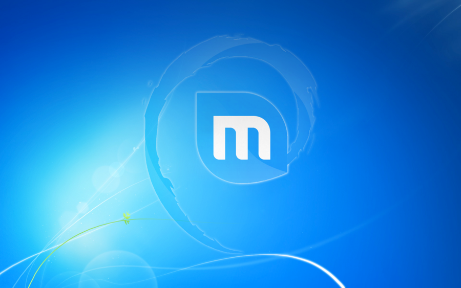 Linux Mint Wallpaper Windows 7 Style by Kryuko 900x563