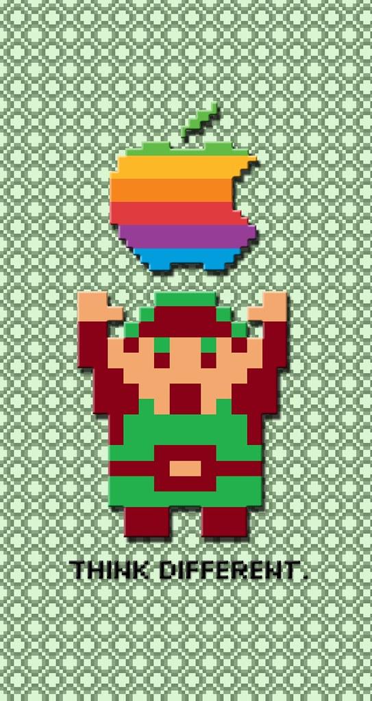 50 8 Bit Zelda Iphone Wallpaper On Wallpapersafari