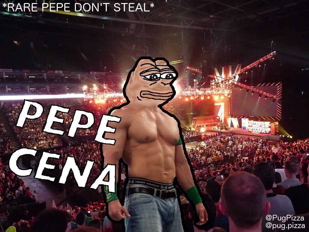 RARE PEPE JOHN CENA PEPE by PugPizza 1024x768