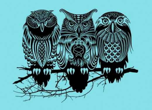 Owls Of The Nile   ShirtCrunch 520x376