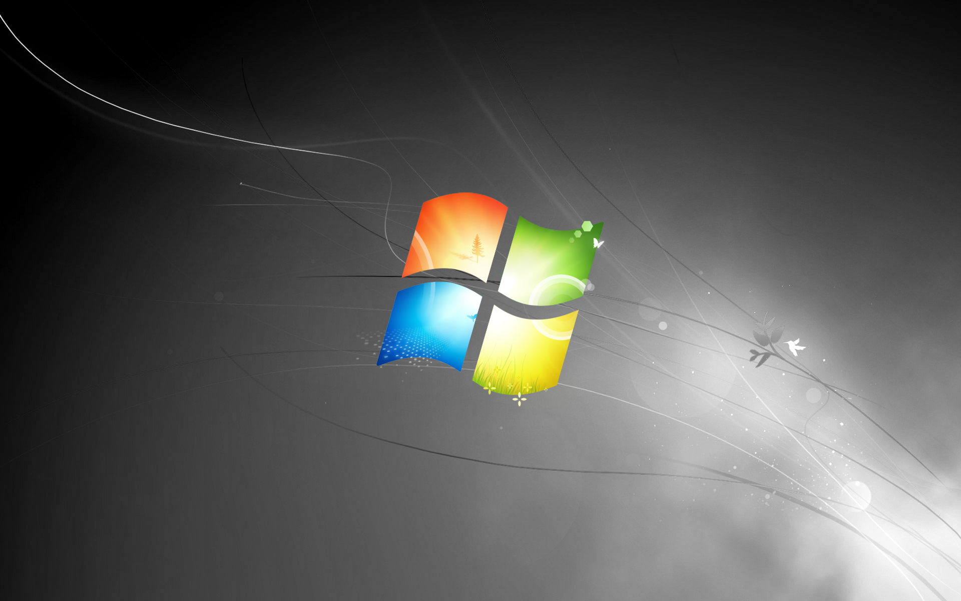 Windows 7 Black wallpaper 44968 1920x1200