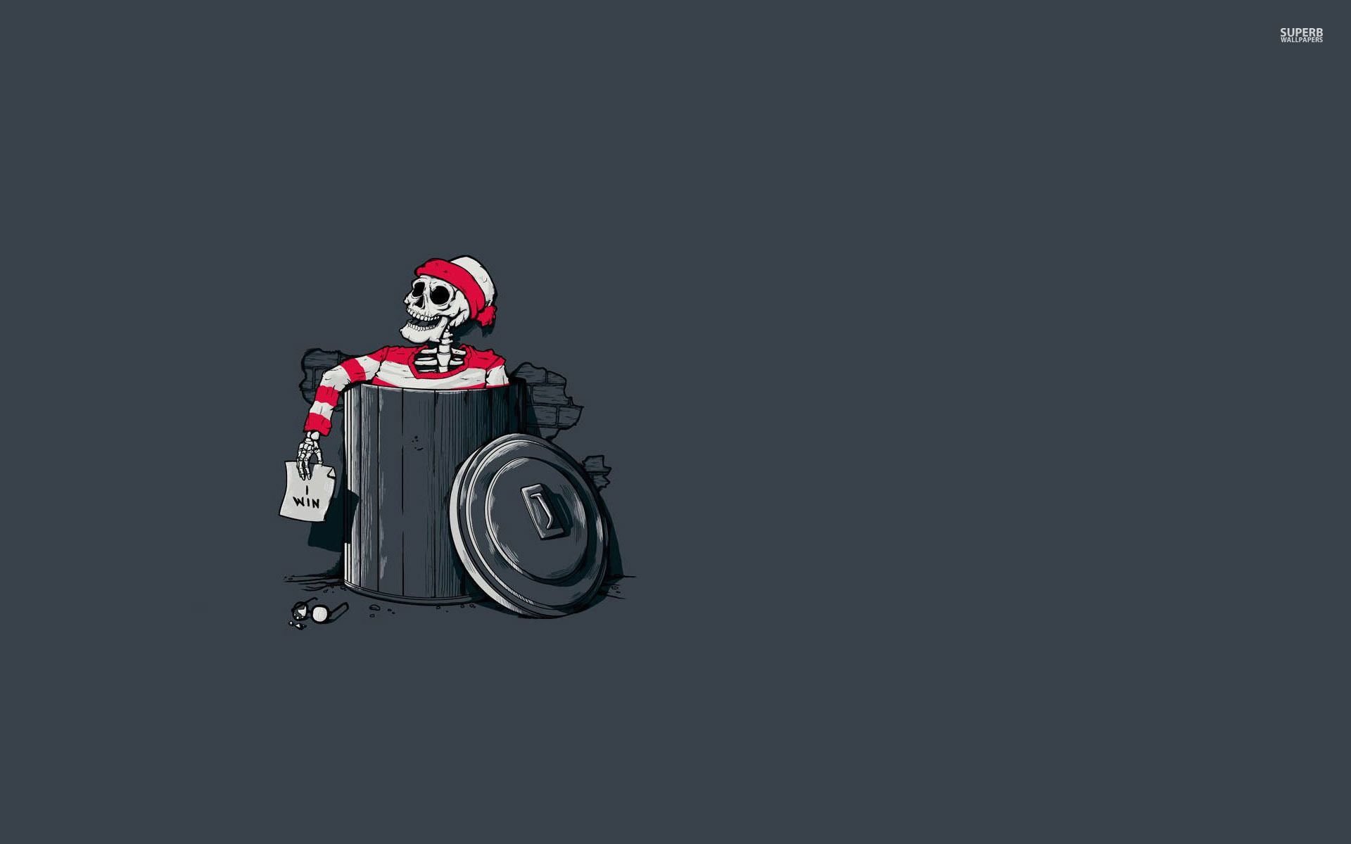 Waldo wins wallpaper   Funny wallpapers 1920x1200