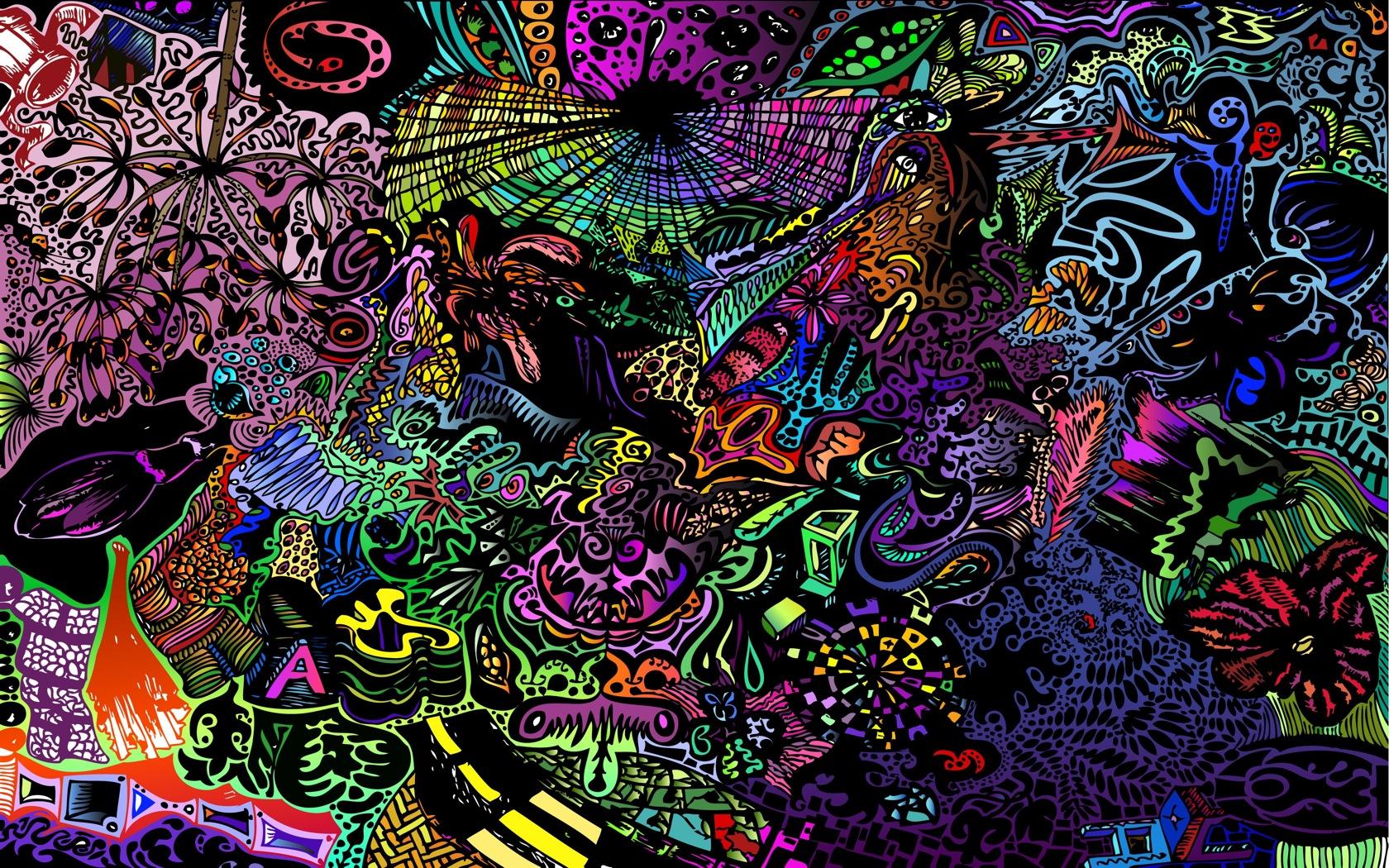 the Neon Acid Trip Wallpaper Neon Acid Trip iPhone Wallpaper Neon 1680x1050