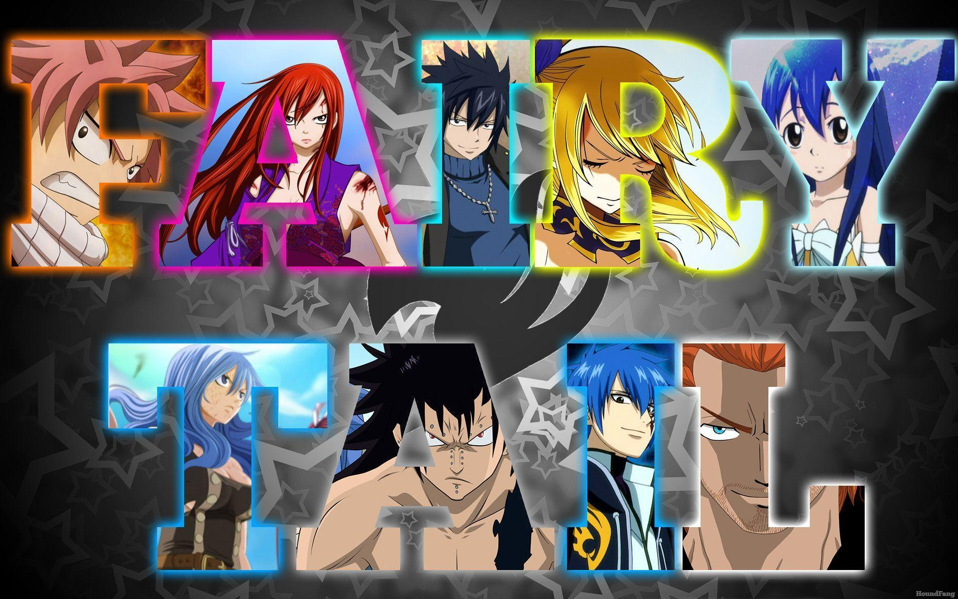 Fairy Tail 2015 Wallpapers 1920x1200