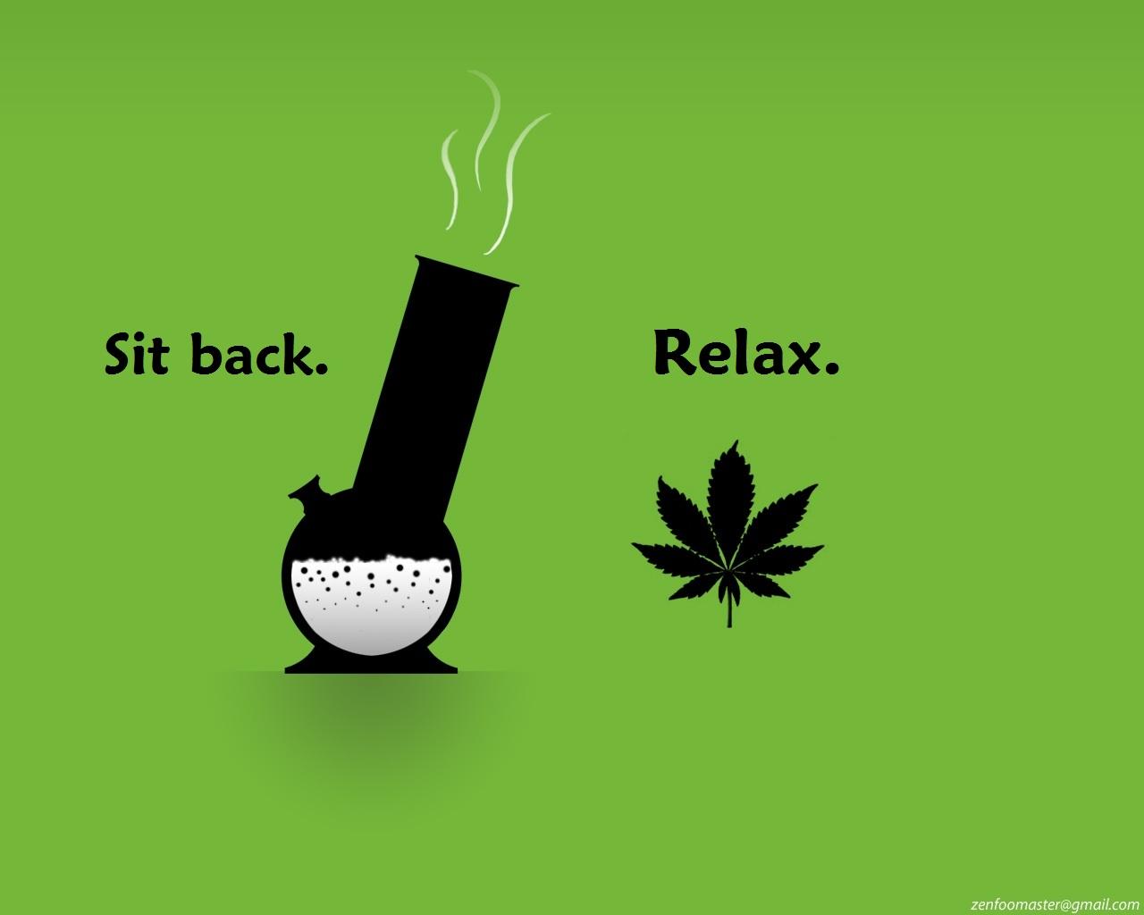 Weed Wallpaper Quotes Funny Marijuana Wallpa...