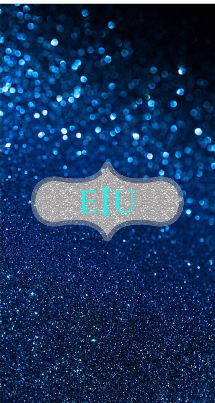 Go Eastern Bleed Blue EIU Blue glitter wallpaper Blue 744x1392