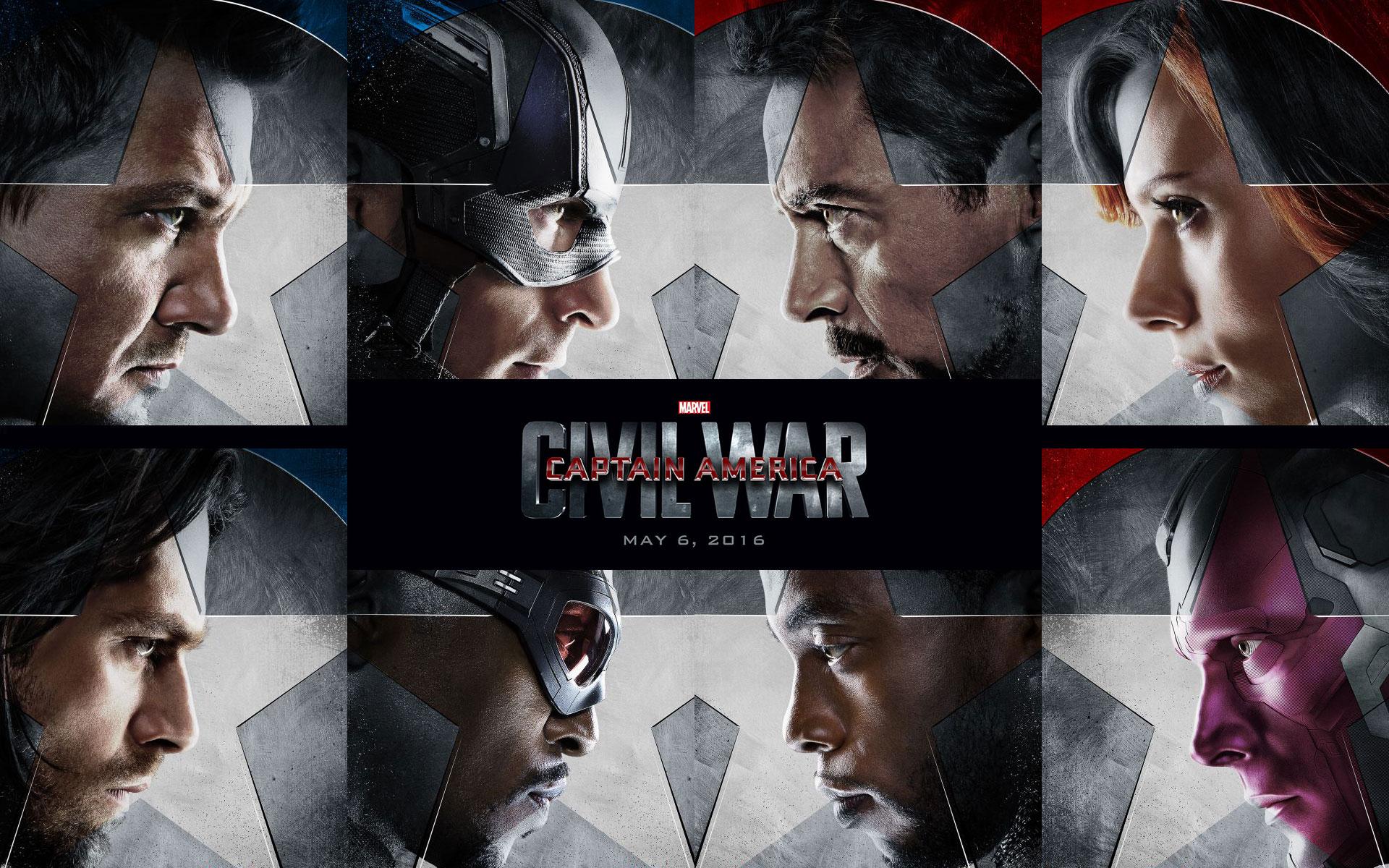 Captain America Civil War 2016 iPhone Desktop Wallpapers HD 1920x1200
