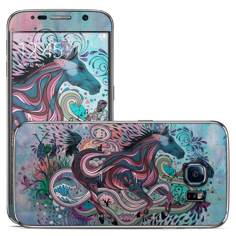 Samsung Galaxy S6 Skin   Poetry in Motion by Mat Miller DecalGirl 800x800