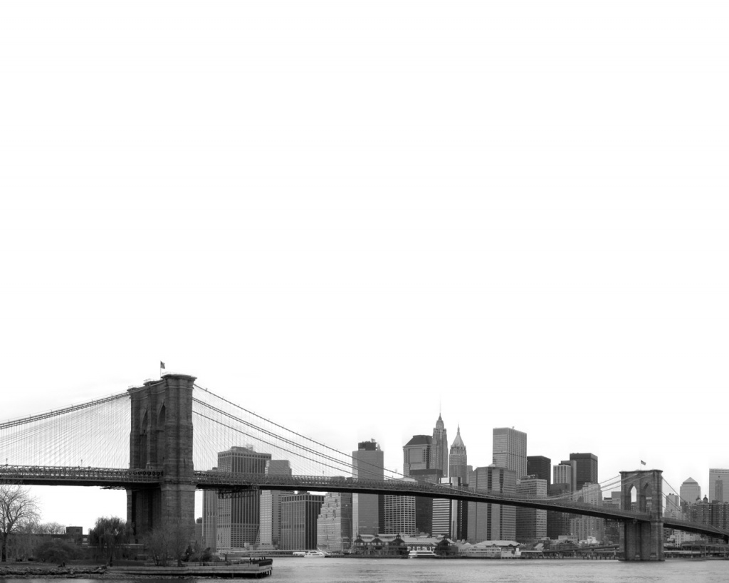 1024x768 Brooklyn Bridge desktop PC and Mac wallpaper