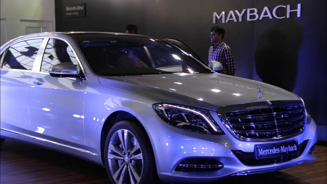 2017 Mercedes Maybach S600 Sedan in Auto Expo 2017 1280x720