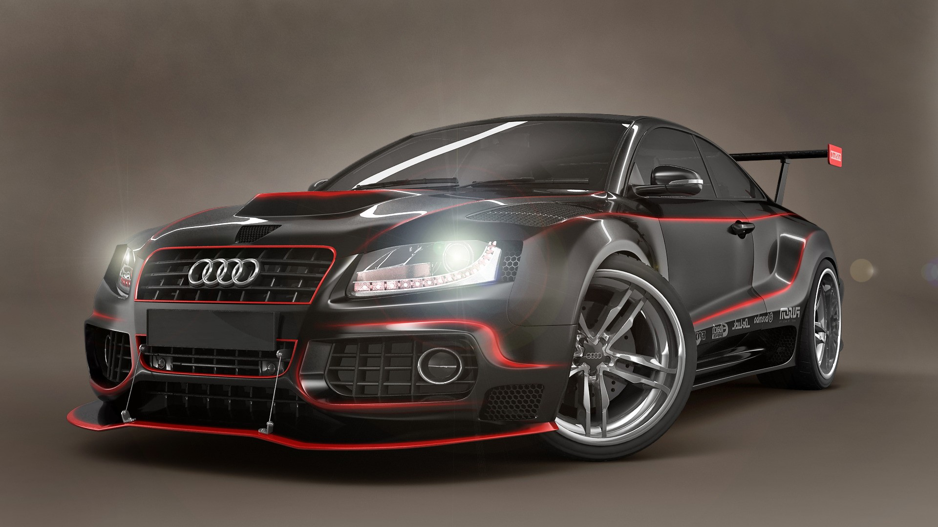 wallpaper car voiture sport ecran audi driver 1920x1080