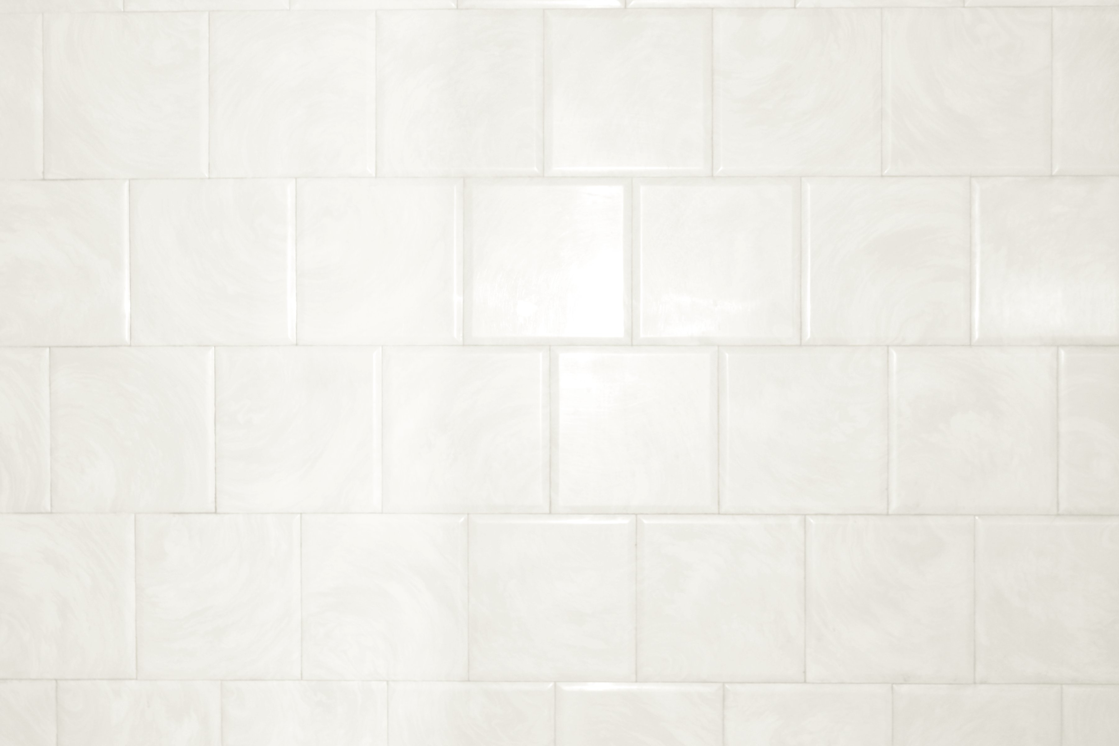 White Textured Wallpaper For Bathroom