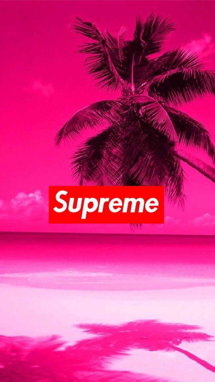 supreme hypebeast chill wallpaper FreeToEdit 750x1334