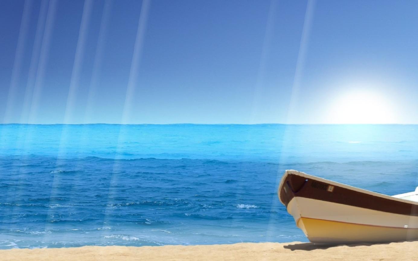 Summer Beach Scenes Wallpaper