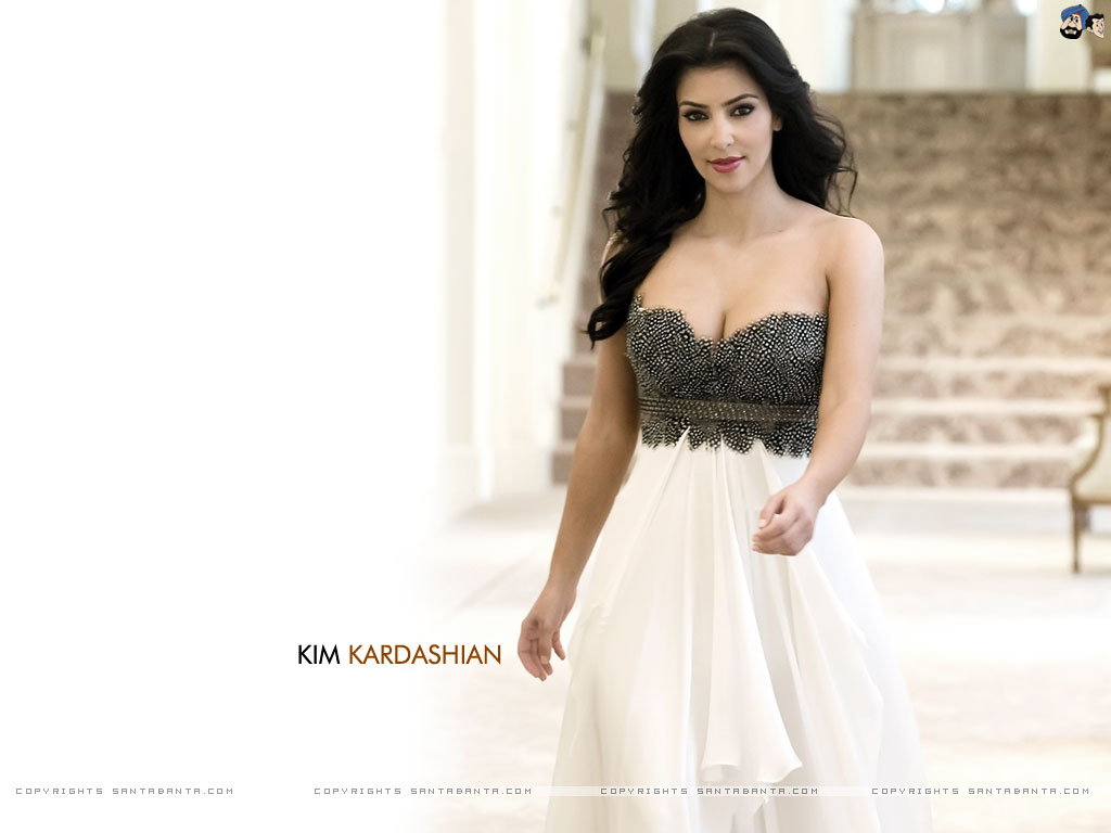 Likes Entertainment Kim Kardashian Wallpaper 1024x768