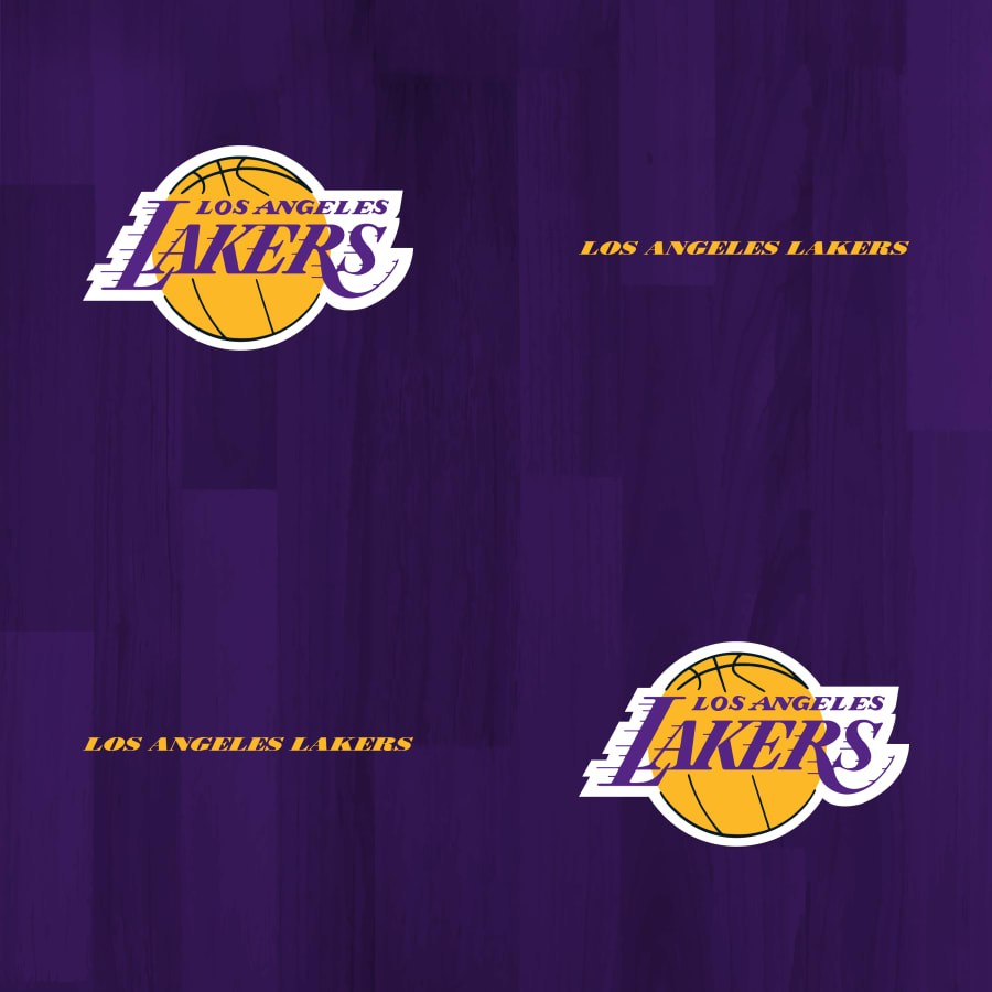 Los Angeles Lakers Hardwood Pattern Purple   Officially 900x900