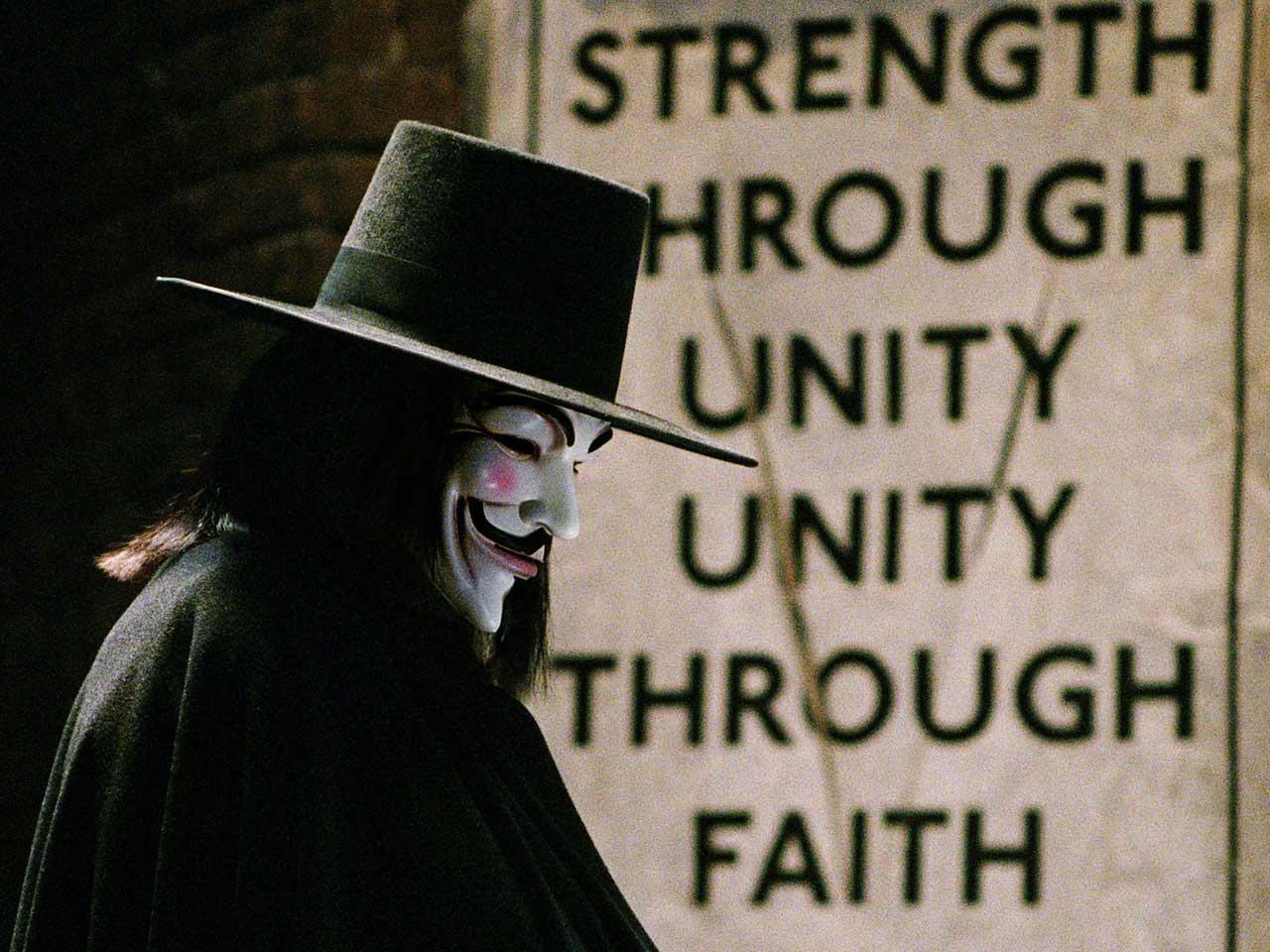 Free Download For Vendetta Comic Book Series Hd Wallpaper Stylish