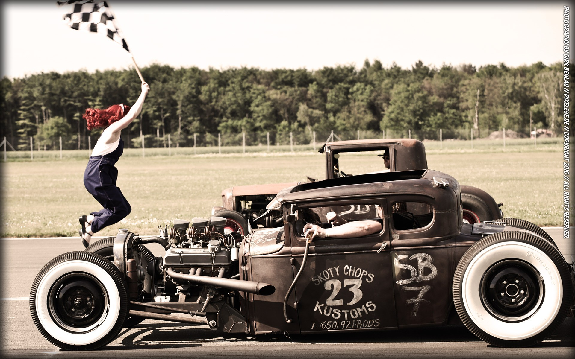 for many of these cars is Ford Model T Other interesting custom rods 1920x1200