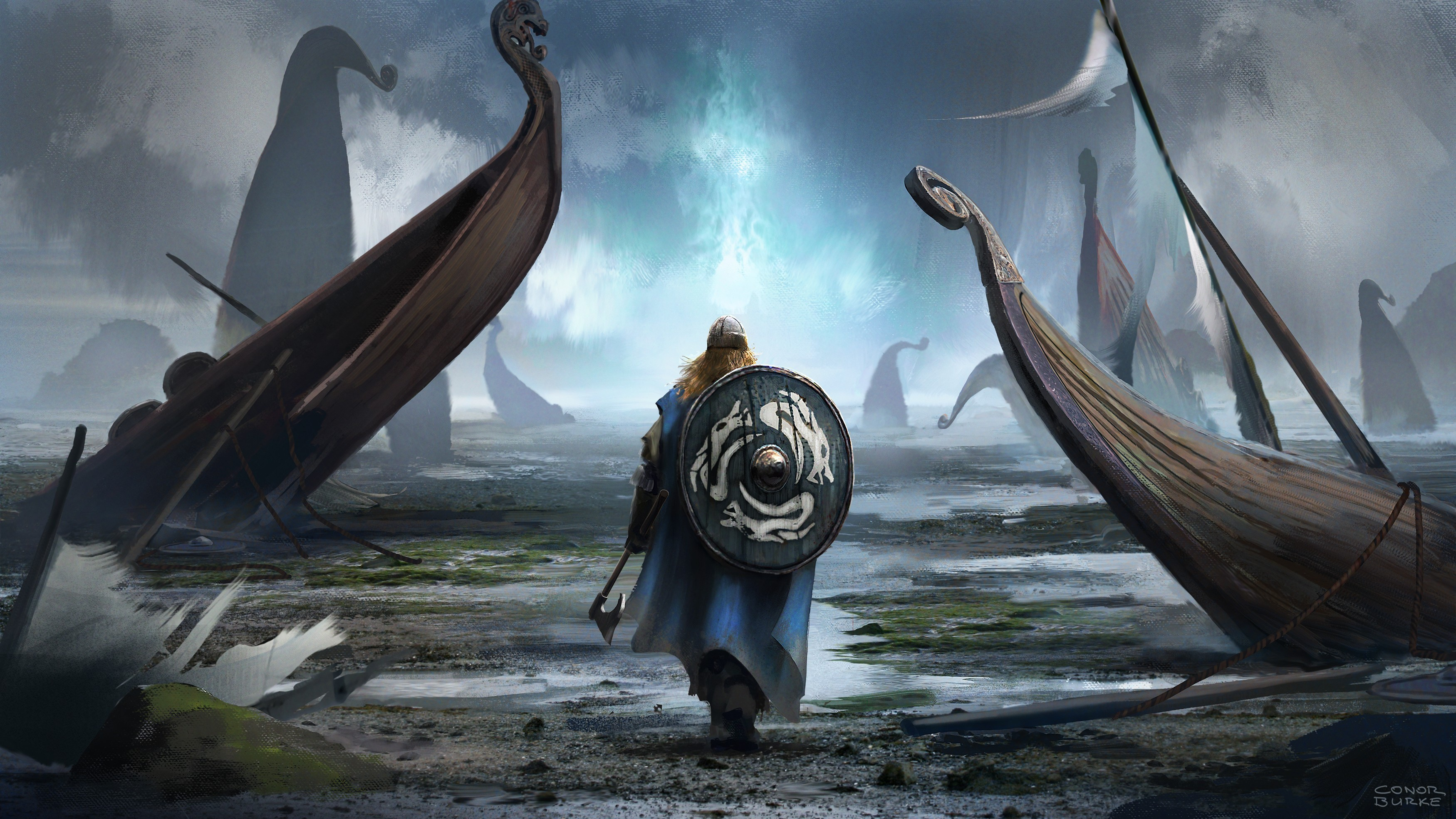 69 Hd Viking Wallpapers on WallpaperPlay 3500x1969