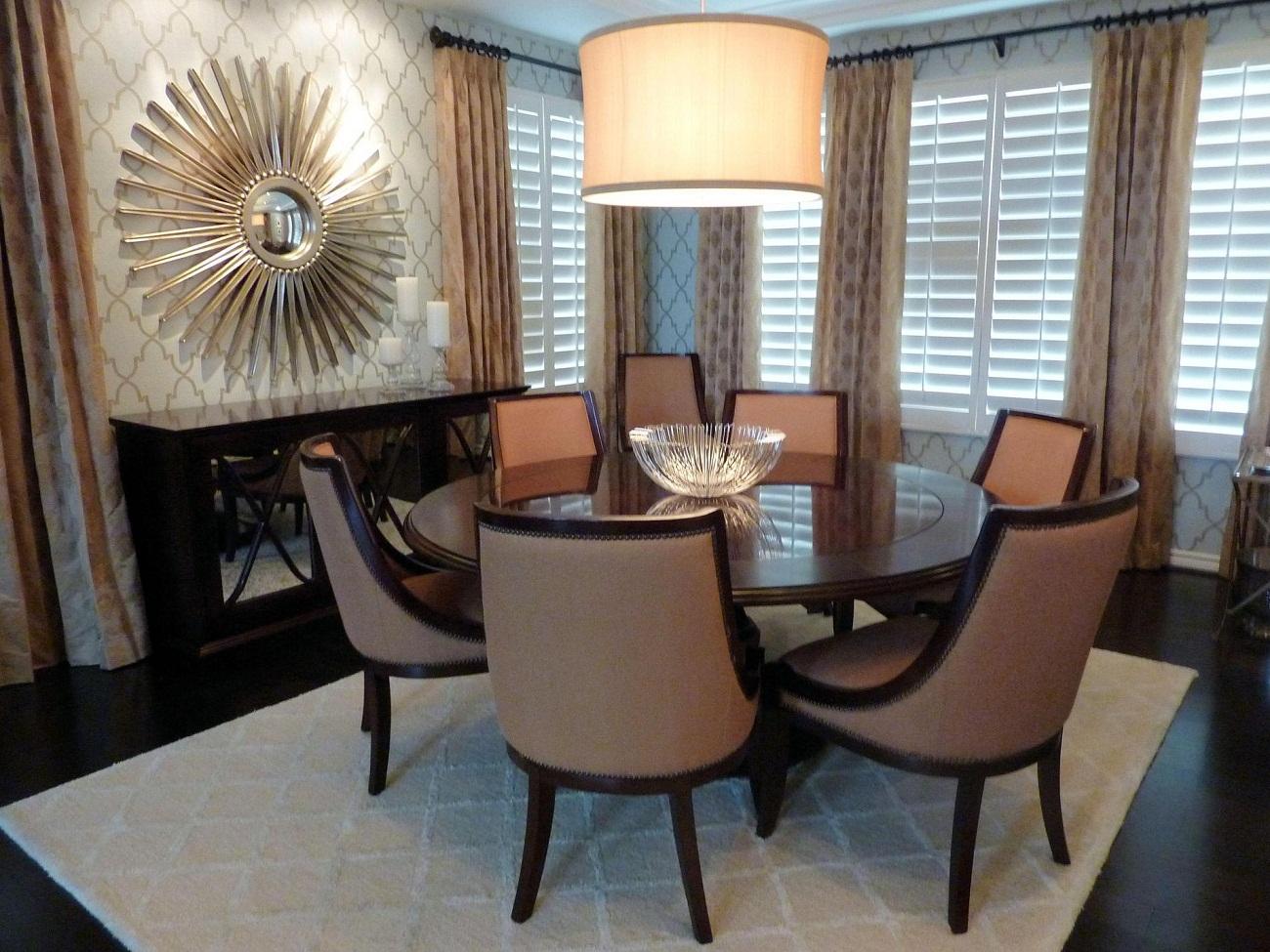 dining room designs ideas 2015   Grasscloth Wallpaper 1300x975
