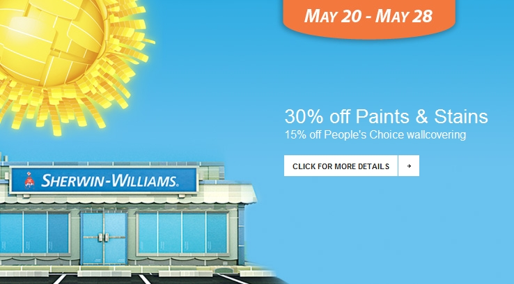 Sherwin Williams Paint Sale May 2012 A Little Design Help 738x408