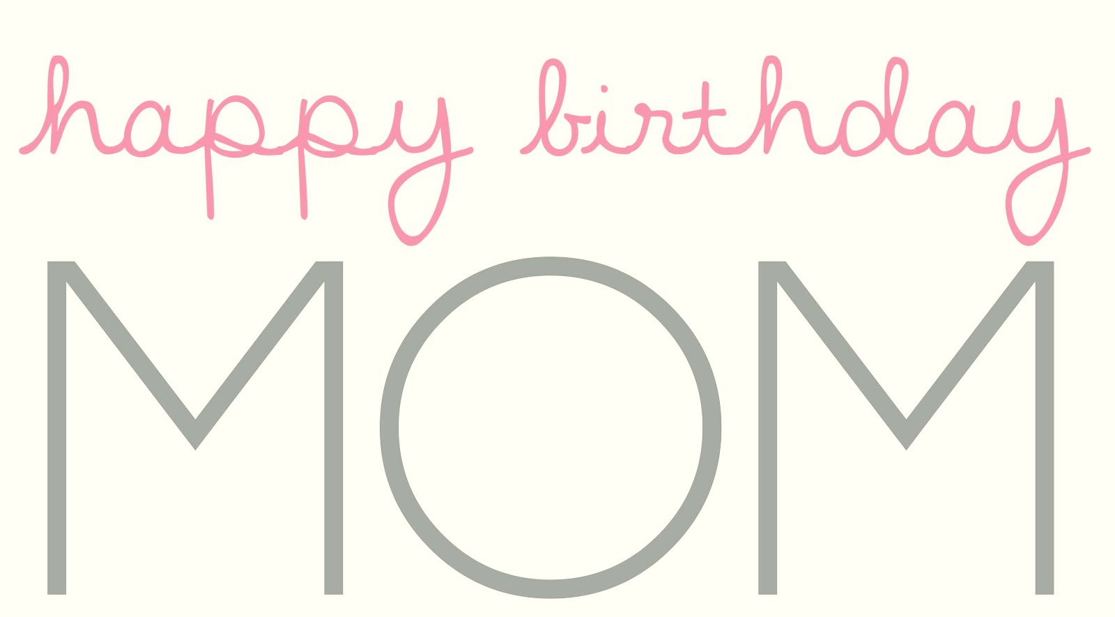 Happy Birthday Mom 6 Sky HD Wallpaper 1600x885