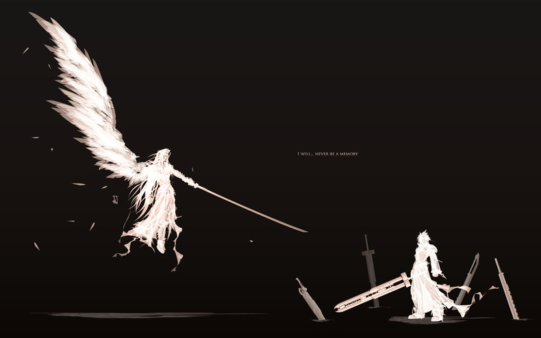 Cloud vs Sephiroth   Final Fantasy VII Wallpaper theVideoGameGallery 790x494